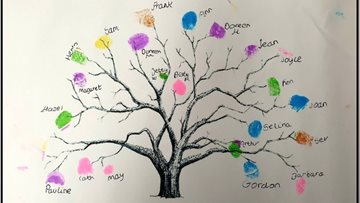 Family tree project promotes kindness at Huddersfield care home
