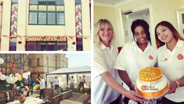 Wigston care home hosts open day