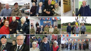 Residents attend local Sea and Army Cadet's 100th anniversary of WWI