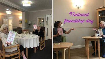 Hebburn care home celebrates Friendship Day