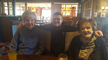 Northwich care home Residents enjoy trip to local pub