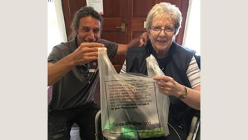Shopping spree success at Tile Hill care home
