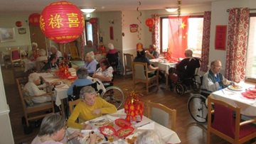Residents celebrate Chinese New Year at The Rowans