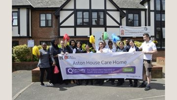 Hayes Care Home Enjoys Success In CQC Report