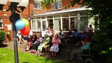Rochdale care home celebrates Open Day with local community