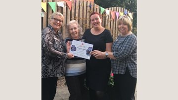 Silverwood Highly Commended in Memory Garden catagory