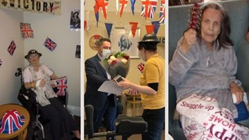 VE Day celebrations for Humberston Residents