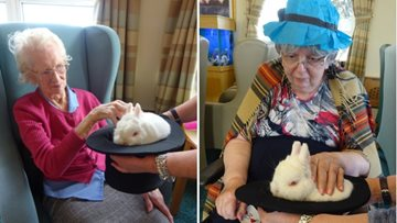 A magical time at Sussex care home