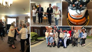 VIP's join Foxton Court for Care Home Open Day
