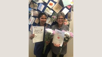 Colleagues awarded at The Westbury