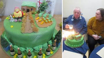 80th birthday celebrations at Peniel Green