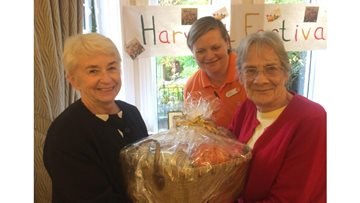 Middlesbrough care home host harvest festival celebrations