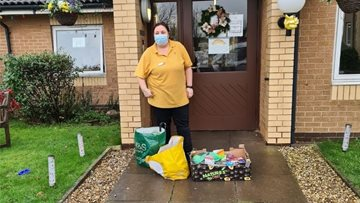 Christmas community donation for Grey Ferrers