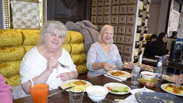Hayes care home enjoy Indian delicacies
