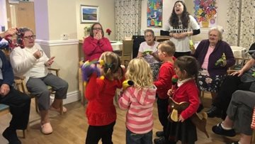 Abermill Residents move to the beat with creative community initiative
