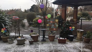 Acacia Lodge creates beautiful winter garden