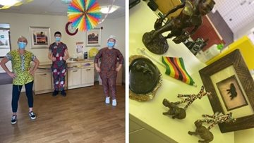 Black History Month celebrations at Nottingham care home