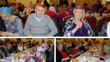 Festive fun for Stoke-on-Trent care home Residents