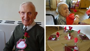 Love is all around at Harrogate care home