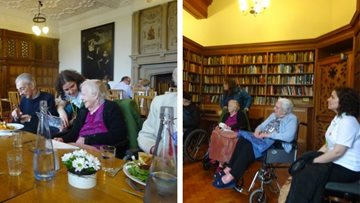 Chesterton care home Residents take historic trip