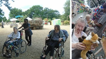 Sweet day for Residents at Crockford Bridge Farm