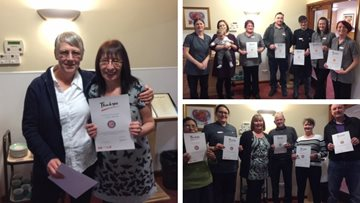 43 staff members recognised for long service at Kendal care home