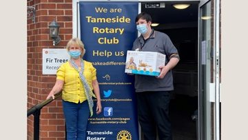 Community generosity on Tameside for Fir Trees care home