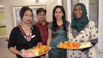 Hayes care home celebrates Diwali