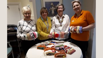 Kind craft donation is a hit with Residents at White Gables