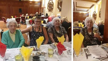 Ladies day out to dinner dance at Carlton Park Hotel