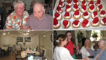 Kildean care home team raise over £250 in Afternoon Tea