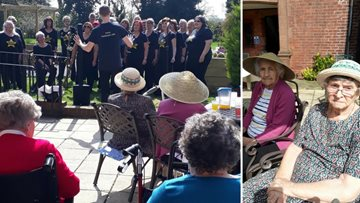 Care Home Open Day at Leeming Garth