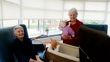 Harmony Care dolls bring comfort to Residents at Ailsa Craig