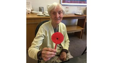 Hawthorn Court commemorate Remembrance Day