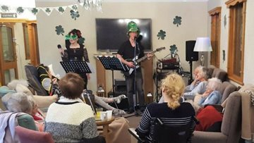 St Patrick's Day Celebrations at Clarendon Hall