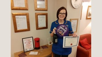 Harnham Croft Colleague awarded for making a difference