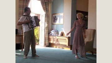 Opera performance at Bexhill care home