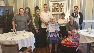 Kindness celebrated at Barnard Castle care home