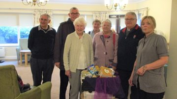 Yarm care home host Harvest Festival celebrations