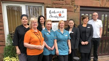 Glasgow care home praised by Care Inspectorate