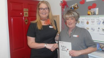 Kesteven Grange Staff awarded for Kindness