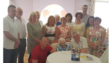 Resident celebrates her 100th birthday surrounded by her loving family