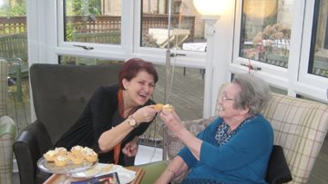 Bankwood supports Dementia UK with Residents' coffee morning