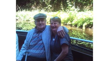 Residents at Dunfermline care home enjoy barge cruise to Ratho