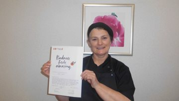 Foxton Court cooks up a celebratory surprise for Colleague kindness