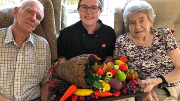 Bradpole care home's festival brings community together to celebrate autumn