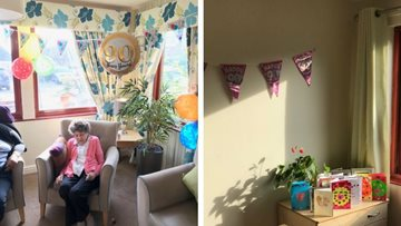 Beeston care home celebrates as Resident turns 90 years young