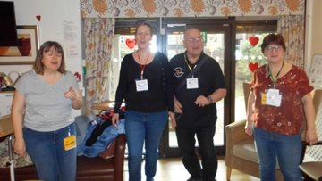 UK Harmony Singers hit the right note at Sherwood care home
