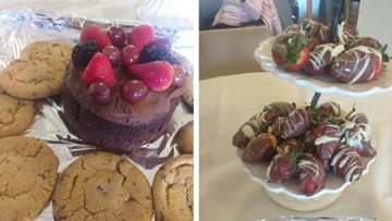 Bake off competition goes down a 'treat' at Pudsey care home