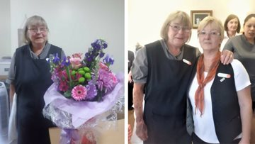 Head Housekeeper at Ascot Lodge retires after 21 years